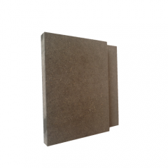 Black Mdf Wood Construction And Dampness Retardant Mdf