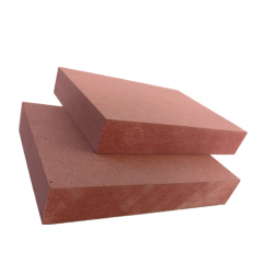 Fire Retardant Mdf Red Middle Density Wood Fiber Board For Fire Resistant Brick Wall Panel