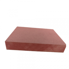 Fireproof Sandwich Panel Red Fiber Board For Coloured Mdf