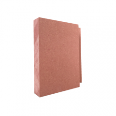 Fire Rated Board Red Density Fiberboard For Fire Proof Wall Panels